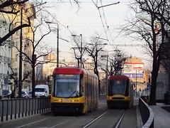 "Pesa 120Na ""Swing"", #3292, Tramwaje Warszawskie (transport131) Tags: tram tramwaj tw ztm warszawa wtp warsaw pesa 120na swing"