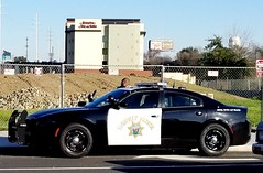 California Highway Patrol Dodge Charger on a traffic stop (Caleb O.) Tags: chp charger