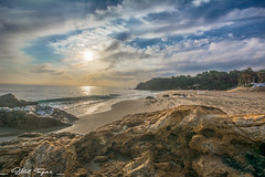Beach at morning (Bilel Tayar) Tags: beach sea seascape sealife morning light sun early sand algeria annaba ainachir bil bileltayar nikon tamron water mediteranée algerie matin mer plage