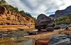 Rock On! (ArmyJacket) Tags: sedona arizona slidingrock oakcreek park nature outdoors desert mountains canyon sky rock boulder southwest