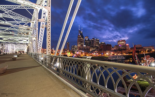 Shelby Street Pedestrian Bridge - Nashville (Tennessee)
