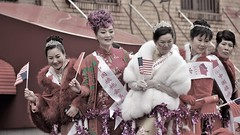 norland d. cruz photography: chinese ladies at the lunar new year parade in new york city (norlandcruz74) Tags: people ladies chinese lunar new year february 2018 chinatown nyc ny york city manhattan downtown us usa norland d cruz pinoy filipino american nikon dx d5100 parade 25