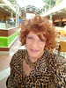 Old Blue Eyes Is Back :) (Laurette Victoria) Tags: eyes necklace animalprint laurette mayfair mall milwaukee redhead curly