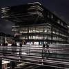 Gent public library (MAICN) Tags: 2018 night dunkel architektur building publiclibrary lines dark bibliothek nachtaufnahme architecture nightshoot linien gebäude nacht gent