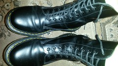 20170918_195842 (rugby#9) Tags: drmartens boots icon size 7 eyelets doc martens air wair airwair bouncing soles original hole lace docmartens dms cushion sole yellow stitching yellowstitching dr comfort cushioned wear feet dm 10hole black 1490 10 docs doctormarten shoe footwear boot indoor macro