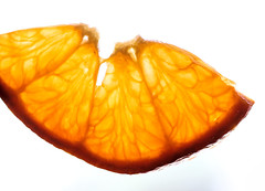 Citrus Sections (dianne_stankiewicz) Tags: macro highkey citrus piece four segments fruit macromondays hmm orange clemintine sectional sections structure