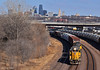 """Westbound Transfer in Kansas City, KS (""""Righteous"""" Grant G.) Tags: up union pacific railroad railway locomotive emd power train trains kansas city west westbound transfer freight yard job"""