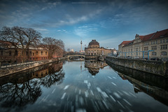 Last ice in Berlin (Sascha Gebhardt Photography) Tags: nikon nikkor d850 1424mm haida lightroom langzeitbelichtung berlin city photoshop cc fototour fx travel tour roadtrip reise reisen sky spree germany deutschland
