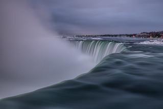 Early Morning Mist, Niagara Falls
