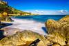beach (K.H.Reichert [ not explored ]) Tags: meer cliffs himmel langzeitbelichtung rocks longexposure beach ocean strand felsen clouds sea malta sky sandstrand coast wolken gozo bay bucht