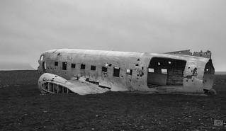 Crashed DC-3