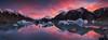 Tasman Fire (Dylan Toh) Tags: nisifilters aorakinationalpark aotearoa dawn dylantoh everlooklandscapephotography iceberg mountcook newbrighton sunrise tasmanlake