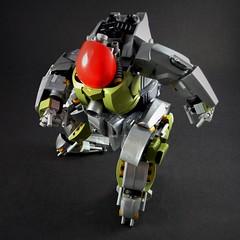 Fatboy Slim Heavy Mech (Marco Marozzi) Tags: lego legomech legodesign legomecha bricks marozzi marco moc mecha mech robot