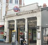 South Kensington LUL Station Entrace , London . January-2018 . (AndrewHA's) Tags: south kensington lul london underground station entrance district circle line