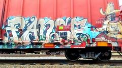 PANZE (BLACK VOMIT) Tags: panze panse h8u iok graffiti freight train box car boxcar