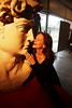 P2020193 (photos-by-sherm) Tags: michelangelo bust david replica cameron art museum wilmington nc pancoe center winter spotlight floodlights kissing
