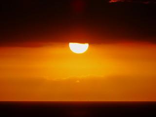 A golden Pacific sunset moment (+1)