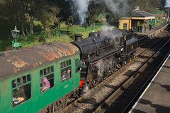 BR 4MT 76017 Ropley (daveymills31294) Tags: br standard class 4 260 mid hants railway watercress line steam 4mt 76017 ropley