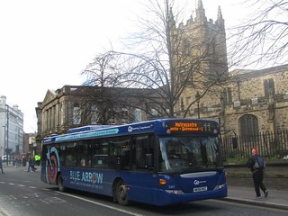 Go North East 5267 NK56KKC Westgate Rd, Newcastle on a diverted 11 (1280x960)