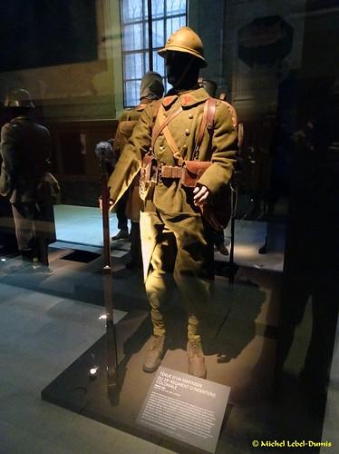 Tenue d'un Fantassin du 23e Régiment d'Infanterie Coloniale, France 1918