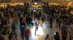 Bride & Groom to-be (EriccpSam) Tags: nyc fujiflim xt2 new york city grand central station bride groom merried