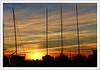 Le dortoir -  The dormitory (diaph76) Tags: extérieur france normandie seinemaritime lehavre coucherdesoleil sunset paysage landscape bateaux boats