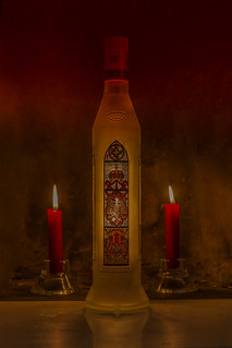 vodka by candlelight