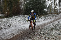 DSC_0032 (sdwilliams) Tags: cycling cyclocross cx misterton lutterworth leicestershire snow