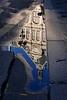 Le palais renversé / Fallen palace (denisg.photo@orange.fr) Tags: lx100 reflet reflection water eau trottoir palais palace flaque puddle pavement