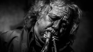 Paul Stocker (con Chiaki Mawatari) en El Plaza Jazz Club, Madrid, 6-1-18