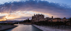 Enjoy the Landscape photography of beautiful place Cathedral in Palma, Spain (Little Migrating Monkey) Tags: cathedral mallorca spain beautiful palma climate perfect old town nightlife entertainment building photography landscape landscapephotography travelinggram travels wonderfulplaces travelblogger beautifuldestinations worldtravelbook longexposure longexposureoftheday longexposurephotography colorsoftheworld thebestcaptureworldplaces travelandlife awesomeearth