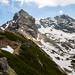 Subida continua até o pico Koscielec (2.155m)