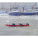 Course canoe sur St Laurent