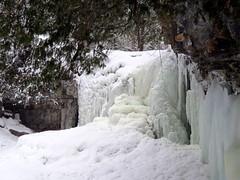Frozen falls (Sean_Marshall) Tags: hiltonfalls conservationarea milton ontario halton niagaraescarpment