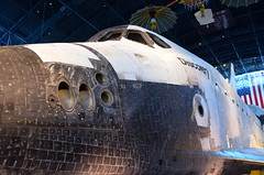 Gills of Discovery (afagen) Tags: chantilly virginia smithsonian museum nationalairandspacemuseum udvarhazycenter stevenfudvarhazycenter smithsonianinstitution jamessmcdonnellspacehangar spaceshuttle discovery spaceshuttlediscovery