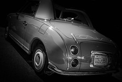 MOTORFEST '17 (Dave GRR) Tags: auto vehicle classic vintage retro black silver mono monochrome chrome tailgate show motorfest canada 2017 olympus omd em1 1240