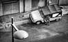 bermuda (Angelo Petrozza) Tags: bermuda montpellier france francia blackandwhite biancoenero bw auto car lamp lampione pentaxk70 angelopetrozza
