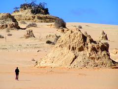 """Great Wall of China"" (Diepflingerbahn) Tags: greatwallofchina mungonationalpark outback nsw sand hills fujifilm s5800 fujifilmfinepixs5800s800 landscape"