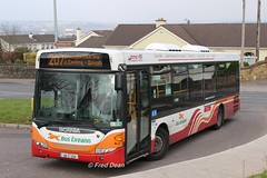 Bus Eireann SL4 (09C234). (Fred Dean Jnr) Tags: scania omnilink buseireannroute207 buseireann sl4 09c234 donnybrook cork february2018