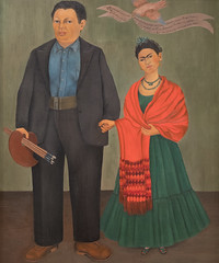Frida Kahlo, Frieda and Diego Rivera [detail], 1931 6/26/17 #sfmoma (Sharon Mollerus) Tags: sfmoma sanfranciscomuseumofmodernart sanfrancisco california unitedstates us