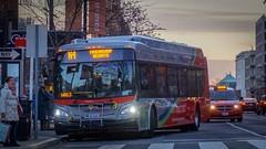 WMATA Metrobus 2016 New Flyer Xcelsior XE40 #1001 (MW Transit Photos) Tags: wmata metrobus new flyer xcelsior xe40 electric bus
