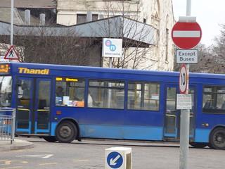 Bilston Bus Station - Thandi bus