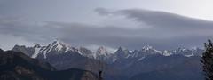 Panchachuli peaks  among cloud. (draskd) Tags: panchachuli munsiyari uttarakhand draskd ridge range himalayas kumaontravel