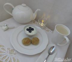 Winter White Tea c (SMD Photos) Tags: tea white atsh winterwhite masalachai biscuits pinecone tealight crystal