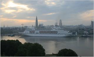 Cruise Ship MV Columbus ...   Cruise & Maritime Voyages.   Docking.