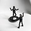 flying vinyl (nicouze) Tags: daft punk daftpunk vinyl figurine figure actionfigure toy artoy nicouze toyart flying fly volant ufo ovni funny fun music robot robotrock