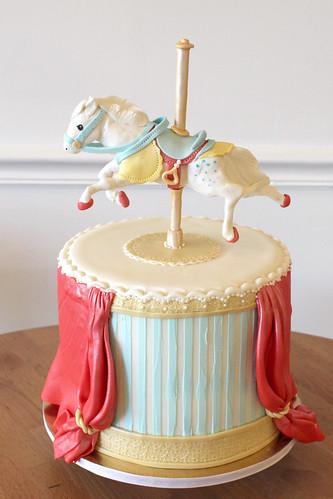 Carousel Horse Birthday Cake
