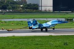 28264: Bangladesh Air Force Mig-29UB. (Samee55) Tags: bangladesh dhaka planespotting avgeek militaryaircraft air baf force vghs dac