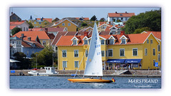 1 of 9 new for my album Marstrand. (Look in my album MARSTRAND) (4) (andantheandanthe) Tags: marstrand bohuslän westcoast sweden island sailingboat sailboat sail boat german quayside water sea houses