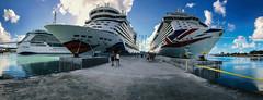 Cruise Ships Panorama (FOXTROT|ROMEO) Tags: aida ship cruise schiff kreuzfahrt karibik caribbean panorama travel